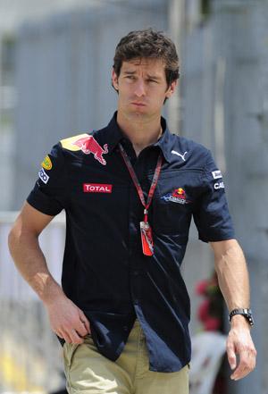 Fruwając nad torem: Mark Webber