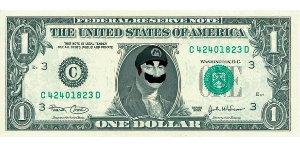 Mario w Gotham City