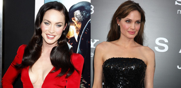 Megan Fox, Angeline Jolie,