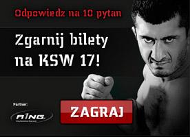 Wygraj bilety na KSW 17 Revenge