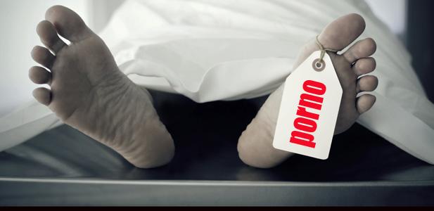 porno śmierć