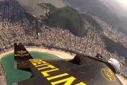 Niesamowity lot nad Rio