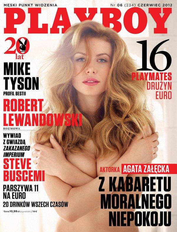 Agata Załęcka playboy.jpg