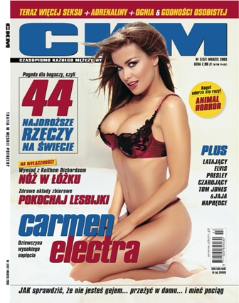 carmen electra ckm