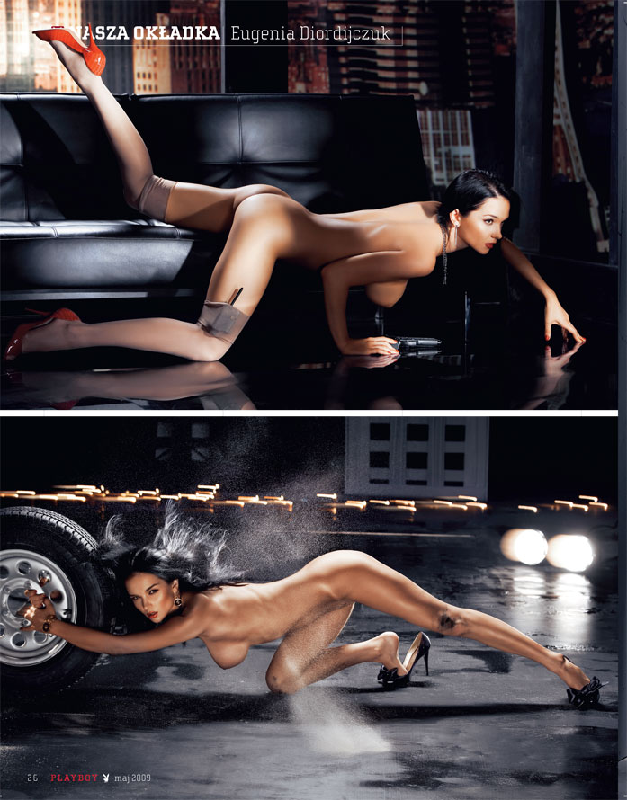 Eugenia Diordijczuk Playboy
