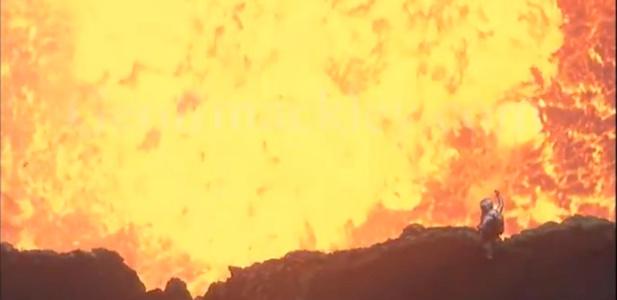 wyprawa na wulkan