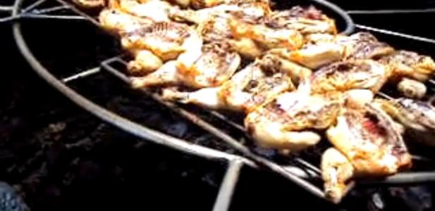 grill na wulkanie