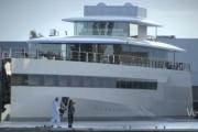 Jacht Steve`a Jobsa pokazany
