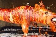 Świnia z rożna