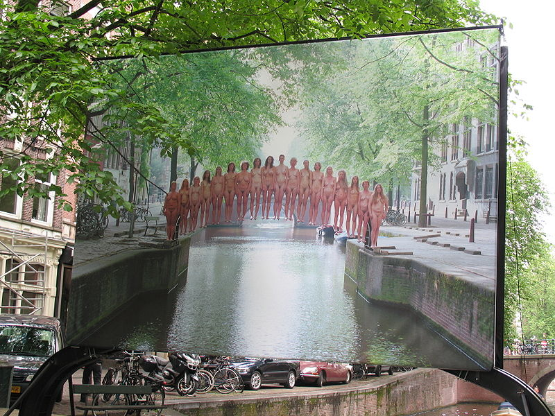 Spencer Tunick Amsterdam