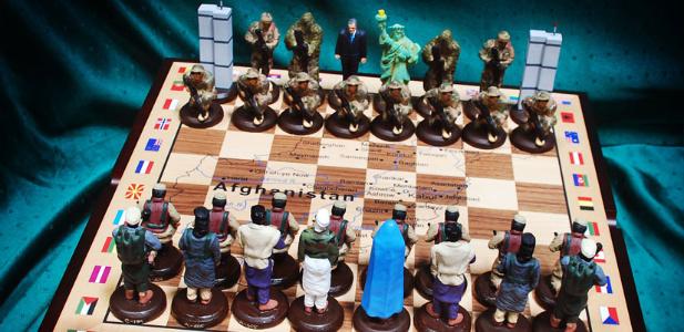Osama bin Laden szachy