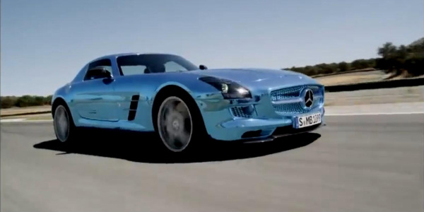Mercedes - Benz SLS AMG Electric Drive