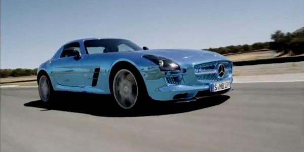 Mercedes - Benz SLS AMG Electric Drive