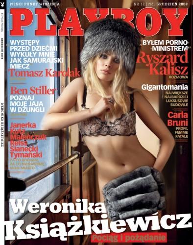 Weronika Książkiewicz Playboy