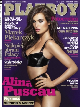 Alina Puscau Playboy