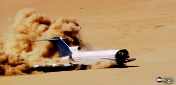 rozbity samolot