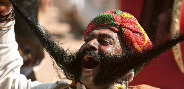długie wąsy