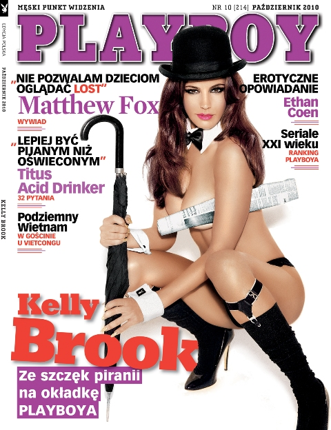 Kelly Brook Playboy
