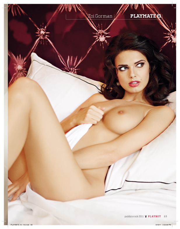 Zoi Gorman Playboy