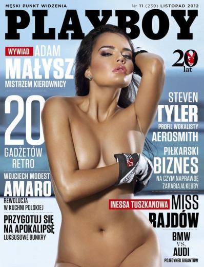 Inessa Tuszkanowa Playboy