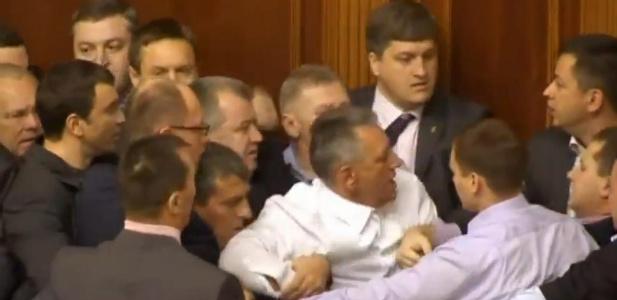 bójka na Ukrainie