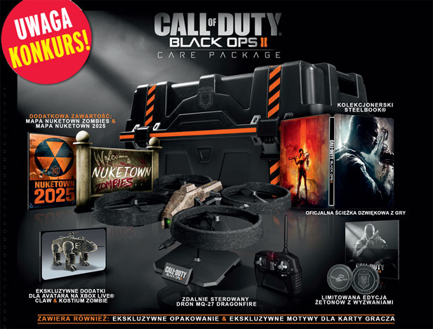 call of duty black ops ii konkurs