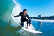 Surfing na 30 metrowej fali