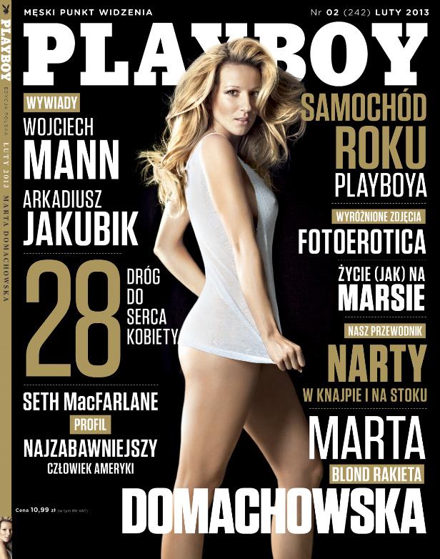 marta domachowska playboy