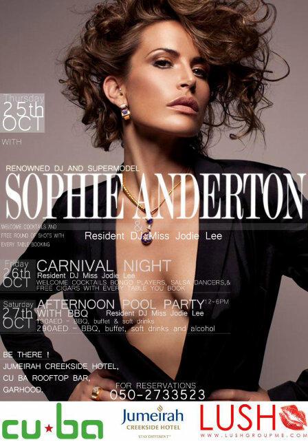 Sophie Anderton twitter