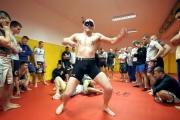 Harlem Shake w klubie MMA