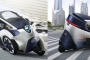 Trójkołowiec Toyoty - iRoad