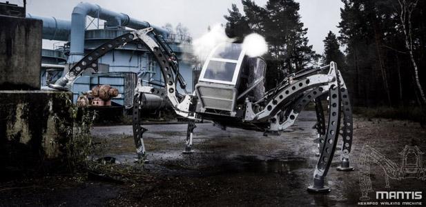 mantis robot