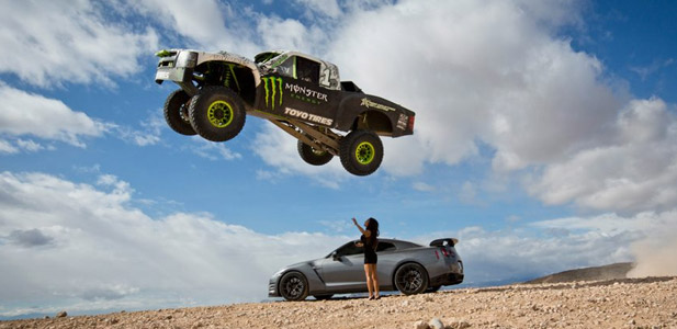 monster energy trophy truck