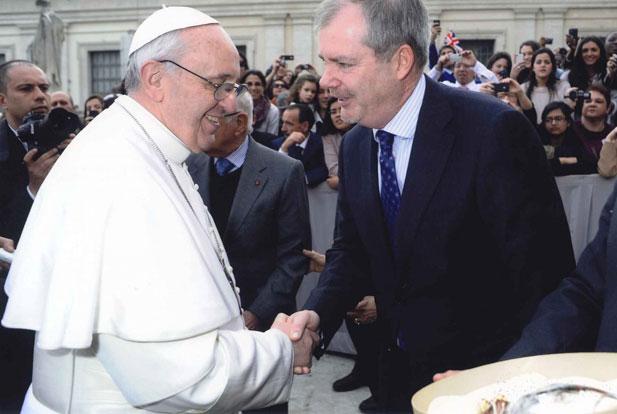 co pije papież