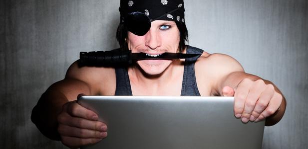 antigua piractwo