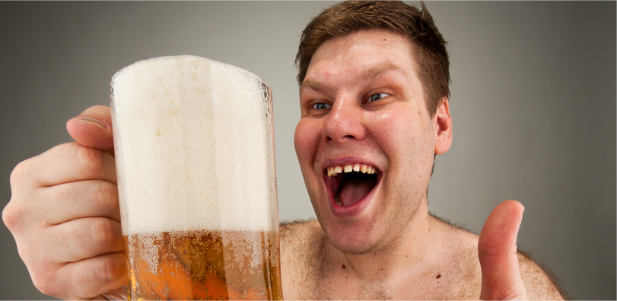 picie piwa