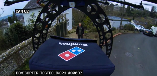 dron pizza