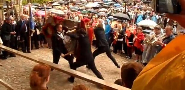 katolicki harlem shake