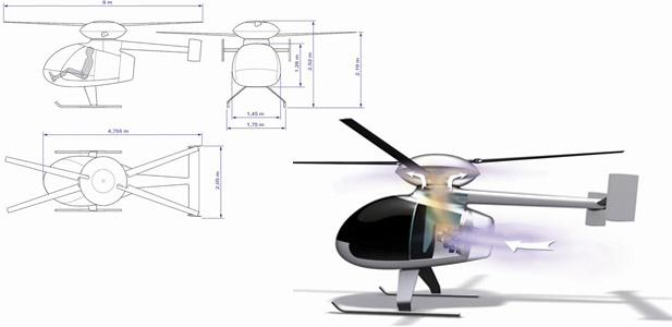 prywatny helikopter