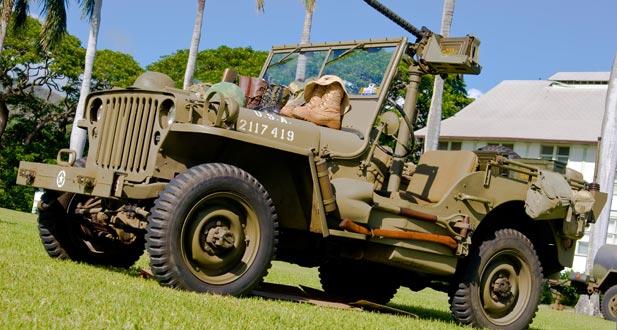 żołnierze kanada jeep