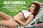 Julia Kamińska we wrześniowym CKM!