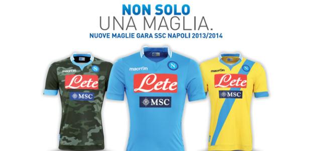 Napoli koszulki 2013