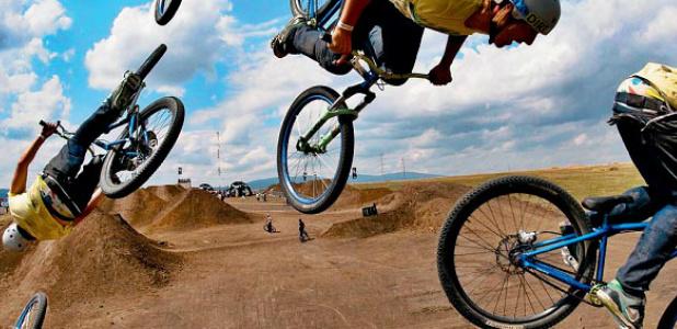 skoki rowerowe