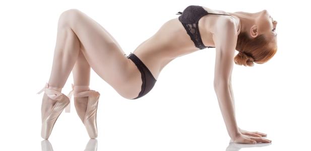 seksowna baletnica