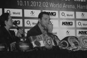 Kliczko i Masternak w ringu