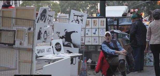 Banksy Nowy Jork