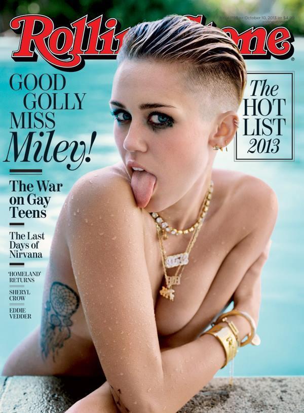 Miley Cyrus nago w Rolling Stone
