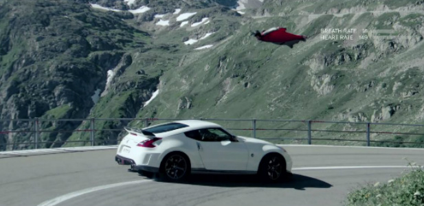 Nismo vs wingsuit