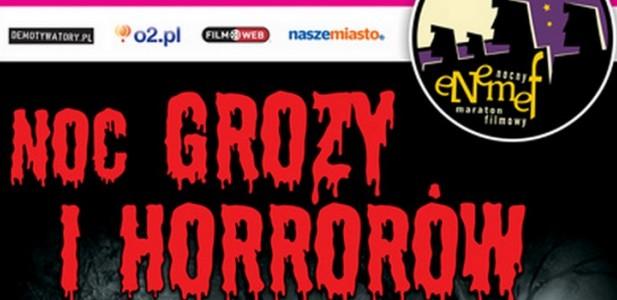 Noc grozy i horrorów