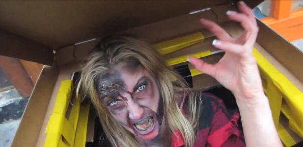 pizza zombie